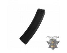 Магазин King Arms механический черный пластиковый для MP5 (100 шаров )