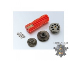 Набор шестерен SYS ZS-02-17 All helical gear full set super torque up type для Marui