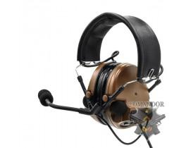 Наушники SkyTac активные Comtac II Headset (coyote brown)