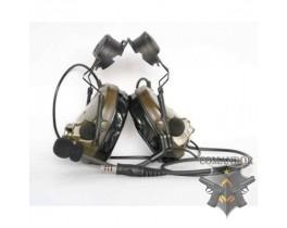 Наушники SkyTac активные ARC Comtac III Headset (folliage green)