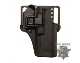 Кобура FMA CQC Serpa Holster Glock 17 (черная)