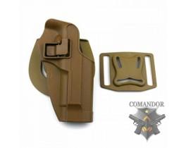 Кобура FMA CQC Serpa Holster Glock 17 (песочная)