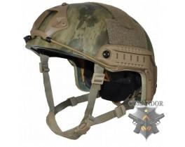 Шлем FMA Fast ballistic OPS Core Aramid толстостенный L/XL (МОХ)
