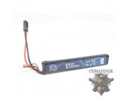 Аккумулятор BlueMax 7.4в 1200 mAh 20C
