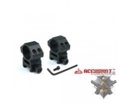 Кольца для оптического прицела GD RG-01 Premium 25mm Scope Rings(Deluxe Medium)